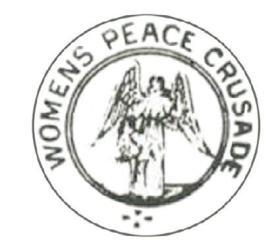 womens peace crusade