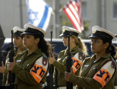 Israeli women soldiers wikimedia commons